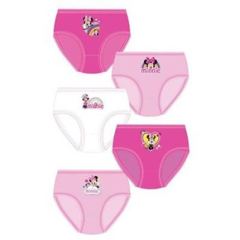 "Code:33322, Official ""Minnie"" girls 5 in a pack briefs £2.95. 18pks.."