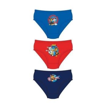"Code:33233, Official ""Paw Patrol"" boys 3 in a pack briefs £1.80. 18pks.."