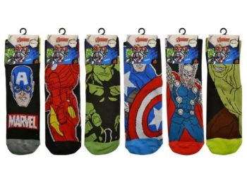 MAR7764, Official Marvel Avengers Mens Socks £7.80 a dozen.  10 dozen....
