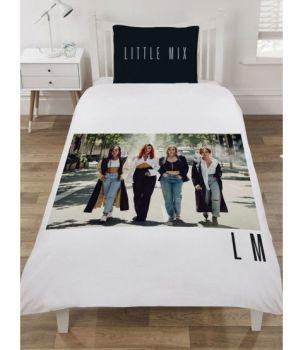 """*V057, Official """"Little Mix"""" Reversible Single Panel Duvet Cover Set £13.95. pk3..."""