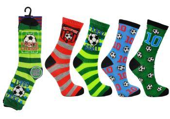 Code:2375, Boys Footie Champ Socks £3.00 a dozen.   5 dozen...
