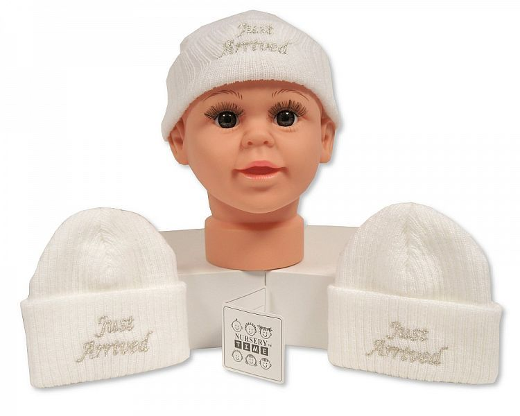BW449, Baby Knitted Hat - Just Arrived £2.10.  PK6...
