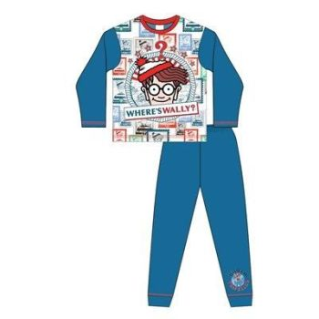 "*Code:33164, Official ""Where's Wally"" Boys Pyjama £4.50. pk18..."