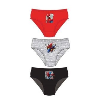 "Code:33235, Official ""Spiderman"" boys 3 in a pack briefs £1.80. 18pks.."