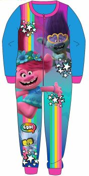 """*WH35016, Official """"Trolls"""" Girls All in One £6.00.  pk24.."""