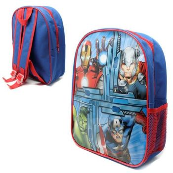 "*Code:6290, Official ""Avengers"" Backpack With Mesh Side Pocket £2.25.  pk12..."
