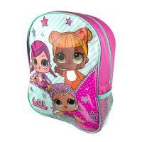 "**Code:8279, Official ""L.O.L"" Backpack With Mesh Side Pocket £2.25.  pk6...."