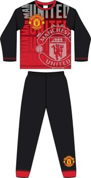 "**Code:33896, Official ""Manchester United"" Boys Pyjama £4.40. pk18..."