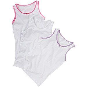 GV1, Girls cotton vest. 1 dozen...........