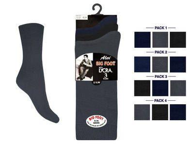 Mens Big Foot Socks