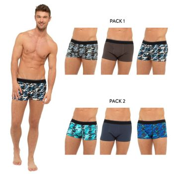 "*BR419, ""Tom Franks"" Brand Mens 3 in a pack Camo Boxers £4.25.  20pks..."