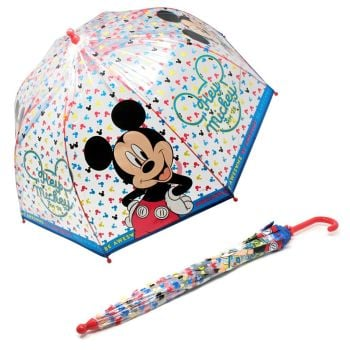 "*Code:3635, Official ""Mickey"" Umbrella £2.95.  pk6.."