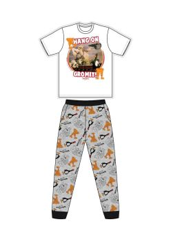 """Code:33780, Official """"Wallace and Gromit"""" Mens Pyjama £7.25. pk24..."""