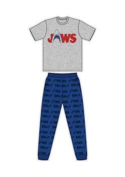 """Code:33495, Official """"Jaws"""" Mens Pyjama £7.25.  pk24..."""