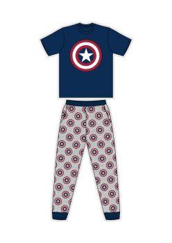 "Code:33478, Official Avengers ""Captain America"" Mens Pyjama £7.25.  pk24..."