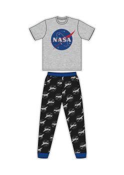 "Code:33484, Official ""NASA"" Mens Pyjama £7.25. pk24..."