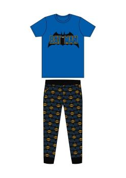 "Code:31558, Official ""Batman"" Mens Pyjama £7.25. pk24..."