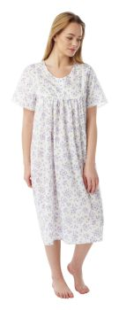 "MN11, ""Marlon"" Ladies 3 button poly/cotton nightdress £4.75. pk3...."