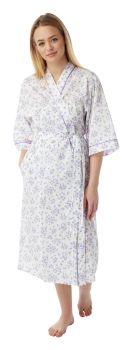MN18, Poly/cotton floral print wrap £6.50.  pk3......