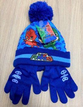 """*Code:6903, """"PJ Masks"""" Boys Hat & Glove Set £2.00.  pk10..."""