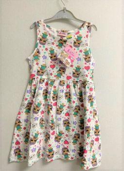 "*Code:180915, Ex Stores Girls ""L.O.L"" Dress £3.25.   pk10...."