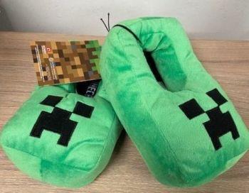 "Code:4476, Kids ""Minecraft"" Slippers £2.95.  pk20...."