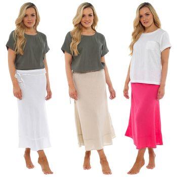 *LN762, Ladies Linen T Shirt £4.50.   pk20....