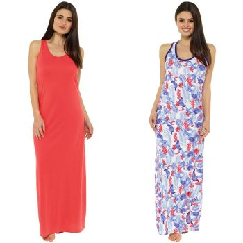 LN407, Ladies Jersey Beach Dress £3.50.  pk28...