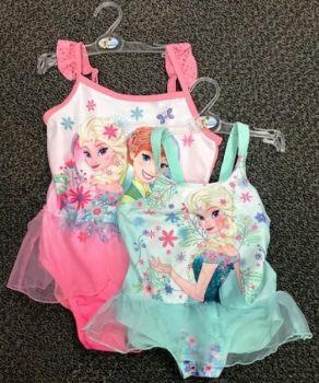 """Code:6204, Girls """"Frozen"""" Swimming Costume £2.75.   pk24..."""