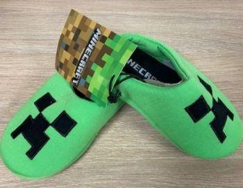 "Code:4479, Kids ""Minecraft"" Slippers £2.95.  pk20...."