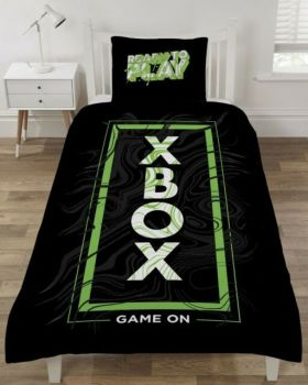"""*V2899, Official """"XBOX"""" Reversible Single Duvet Cover Set £13.95.   pk3..."""