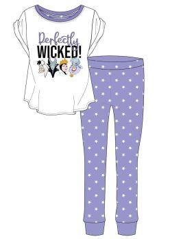 Code:33730, Official Disney Villans Ladies Pyjama £5.90.  pk24...