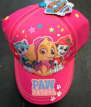 *Code:6606, Ex Stores Girls Paw Patrol Cap £1.95.  pk12..