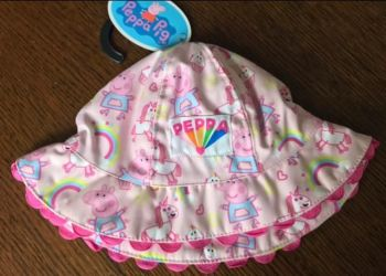 Code:869, Ex Stores Girls Peppa Pig Hat £2.25.  pk12...