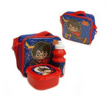 "**Code:9522, Official ""Harry Potter"" 3pcs Lunch Bag Set £3.75.  pk24..."