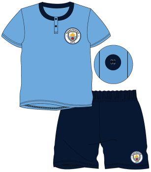 "*WH32019, Official ""Manchester City"" Boys Shortie Pyjama £4.20.  pk18..."