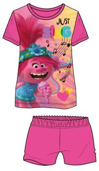 "**WH36017, Official ""Trolls"" Girls Shortie Pyjama £4.65.  pk18..."