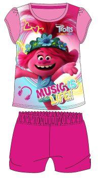 "*WH36004, Official ""Trolls"" Girls Shortie Pyjama £4.25.  pk18..."