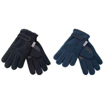 GL114, Kids Fleece Gloves £1.95.  pk12...