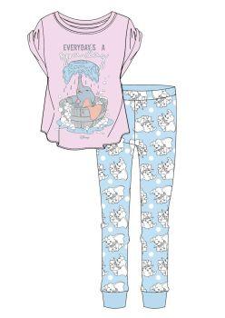 "Code:34108, Official Disney ""Dumbo"" Ladies Pyjama £5.90.   pk8.."