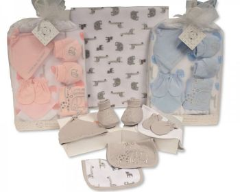 *GP1016, Baby 9 Pieces Mesh Gift Set - Love Me Forever £6.95.   6PKS..