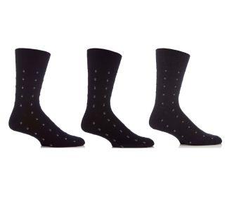"""SOMRJ35, Mens """"Gentle Grip"""" design socks.  1 dozen.."""