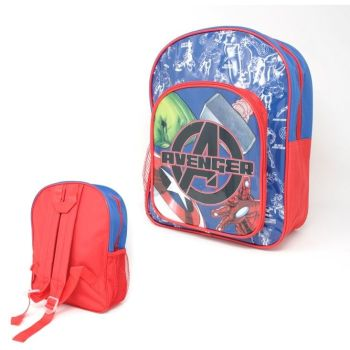 "Code:9588, Official ""Avengers"" Deluxe Backpack £4.10.  pk6..."