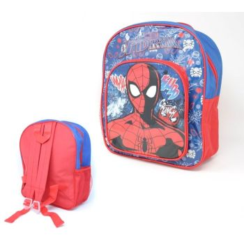 "Code:9593, Official ""Spiderman"" Deluxe Backpack £3.95.  pk12..."