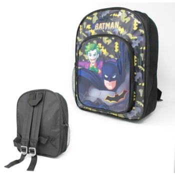 "Code:9557, Official ""Batman"" Deluxe Backpack £3.95.  pk12..."
