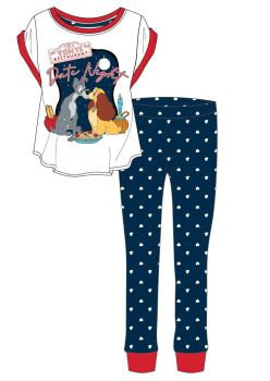"""Code:33407, Official """"Lady And The Tramp"""" Ladies Pyjama £5.90. pk24..."""
