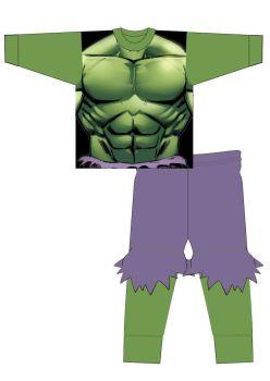 "**Code:34120, Official ""Hulk"" Boys Novelty Pyjama £4.95.  pk18...."