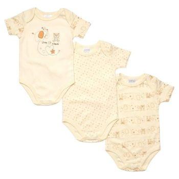 JTC8526SN, 3 Pack Unisex Short Sleeve Body Vest £4.10.  18pks...