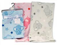 BW1024, Baby Printed Wrap - Elephant £2.95.  PK3...
