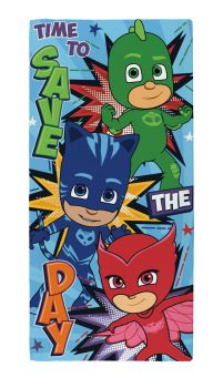 """*PP9969, Official """"PJ Masks""""""""Save The Day"""" Towel £5.50.  pk6.."""